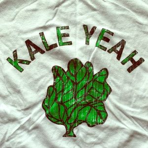 Cute Kale Yeah graphic tee for Veggie lovers!
